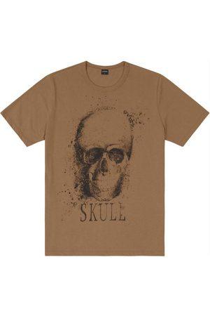 Rovitex Camiseta Masculina Skull