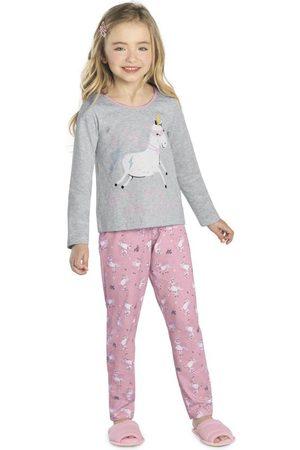 Rovitex Kids Pijama Feminino Unicórnio