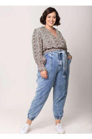 Tal Qual Blusa Almaria Plus Size Cropped Viscose B