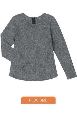 Rovitex Plus Size Blusão Feminino de Viscose