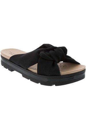 Modare Ultraconforto Mulher Sapato Mule - Tamanco Plataforma com Nó Tec