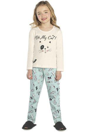 Rovitex Kids Pijama Feminino Gatinho