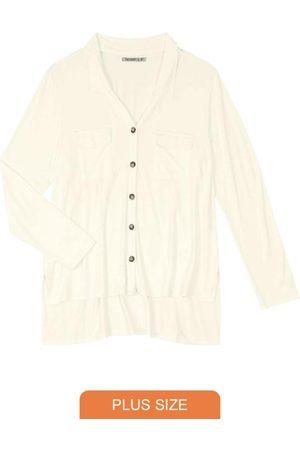 Secret Glam Camisa Manga Longa