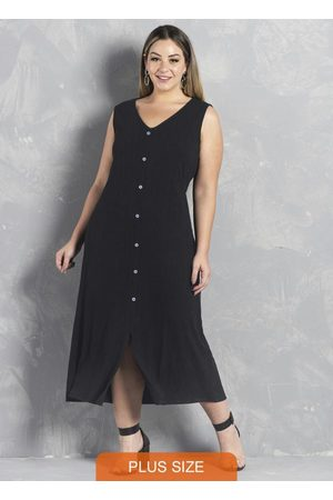 Formitz Plus Size Mulher Vestido Médio - Vestido