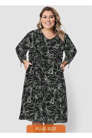 Formitz Plus Size Vestido de Viscose