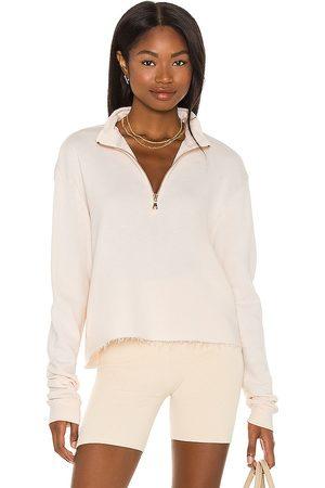 Michael Lauren David Half Zip Pullover in Pink. - size L (also in M, S, XS)