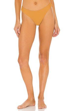 superdown Bella Bikini Bottom in Tan. - size L (also in M, S, XL, XS, XXS)