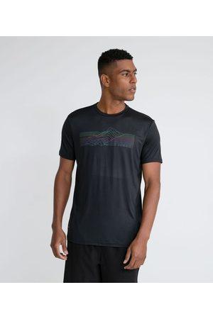 Get Over Camiseta Esportiva com Estampa Refletiva e Proteção UV | | | G