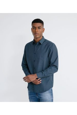 Marfinno Homem Camisa Manga Comprida - Camisa Manga Longa Social Xadrez | | | 04