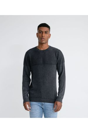 Marfinno Suéter em Tricô Fit Comfort com Textura Lavada | | | P