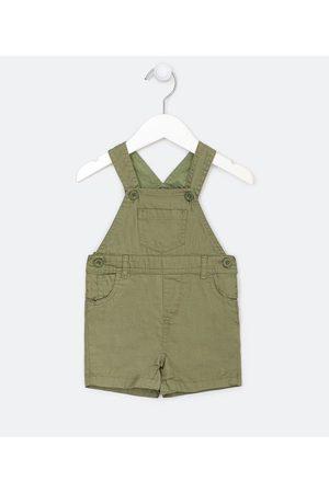Teddy Boom (0 a 18 meses) Jardineira Infantil em Sarja com Bolsos - Tam 0 a 18 meses | | | 6-9M
