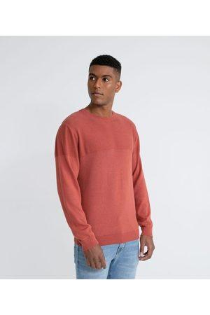 Marfinno Suéter em Tricô Fit Comfort com Textura Lavada | | | GG