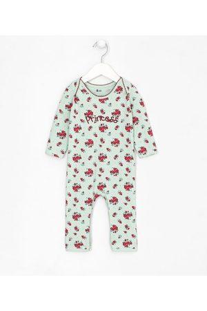 Teddy Boom (0 a 18 meses) Macacão Infantil Estampa Floral - Tam RN a 18 meses | | | 9-12M