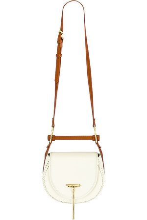 Sancia Babylon Fob Bag in White.