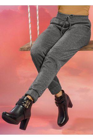 Cativa Mulher Moletom - Calça em Moletom com Bolso