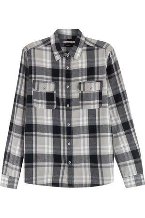 ENFIM Camisa Estampada Tradicional Xadrez
