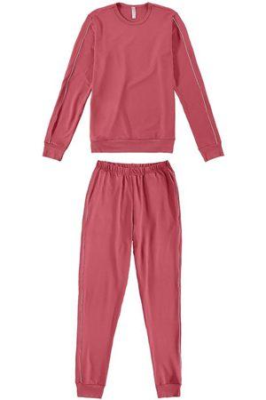 Malwee Conjunto e Pijama Feminino em Moletinho