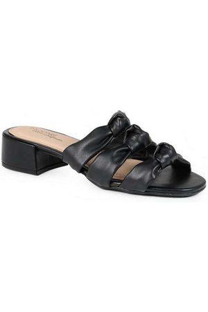 Modare Mulher Sapato Mule - Tamanco Salto Feminino Conforto Nó