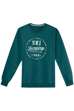 Malwee Blusão Turquesa Escuro Ski Jumping em Moletom