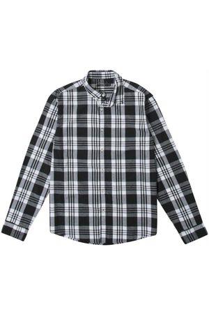 ENFIM Camisa Slim Xadrez em Tricoline
