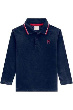 Milon Camisa Polo Infantil Masculina Marinho