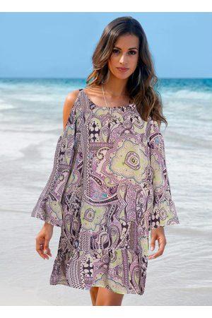 Queima Estoque Vestido Saída de Praia Lilás