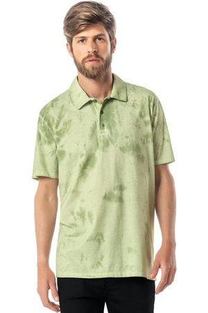 ENFIM Camisa Musgo Polo Tradicional Tie Dye