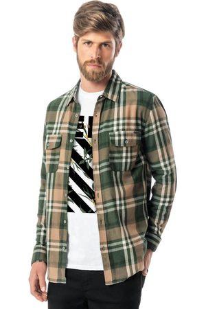 ENFIM Camisa Tradicional Xadrez