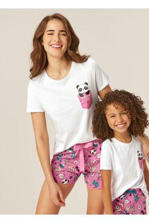 Malwee Mulher Pijamas - Pijama Panda Adulto - Tal Mãe