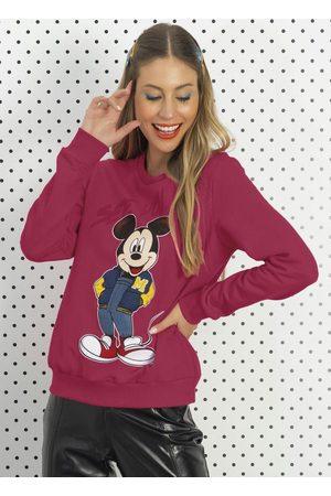 Disney Mulher Moletom - Casasco Estampa Frente e Costas
