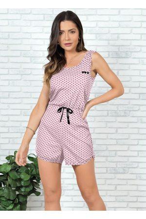 Alma Dolce Macaquinho Pijama Bebê Poá