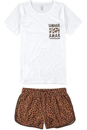 Malwee Pijama Animal Print Puff