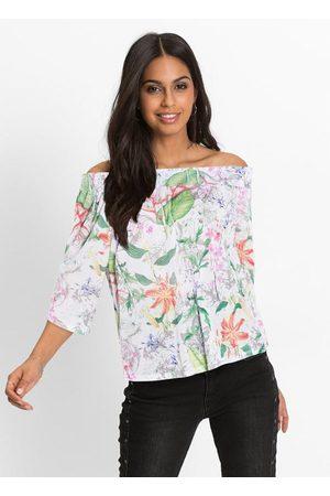 Queima Estoque Blusa Ciganinha Estampada Floral