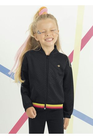 Cativa Kids Menina Jaquetas - Jaqueta Infantil com Retilínea
