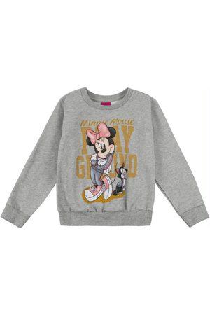 Disney Casaco Infantil em Moletom com Estampa