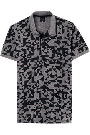 Malwee Camisa Polo Tradicional Geométrica