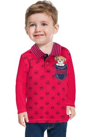 Kyly Camisa Polo Infantil Masculina