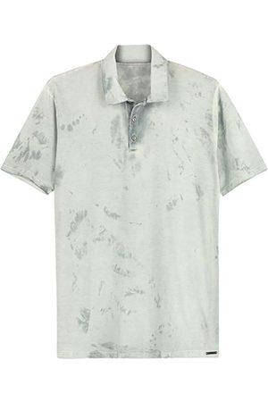ENFIM Homem Camisa Formal - Camisa Polo Tradicional Tie Dye