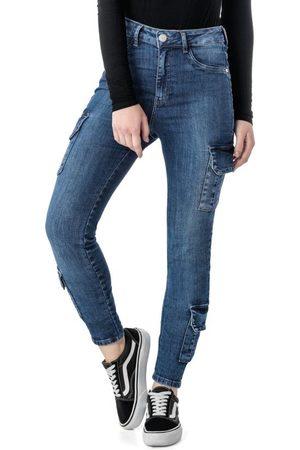 ENFIM Calça Skinny Cargo Jeans