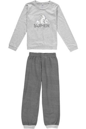 Malwee Pijama Mescla Super Filho em Malha