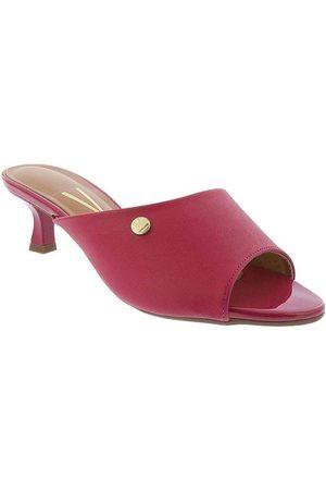 Vizzano Mulher Sapato Mule - Tamanco Salto Fino com Aplicações Verniz P
