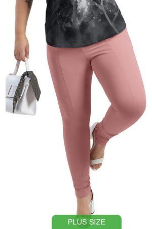 Cativa Plus Size Mulher Calça Legging - Calça Estilo Legging em Elástico