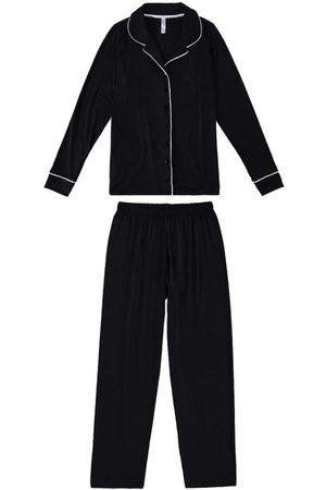 Malwee Pijama Clássico em Viscose