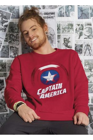 Marvel Casaco Masculino com Estampa