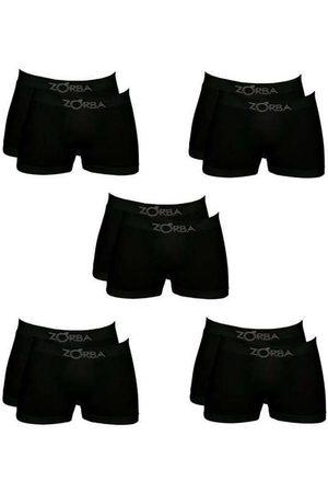 Zorba Homem Cueca Boxer - Kit com 10 Cuecas Boxer 781