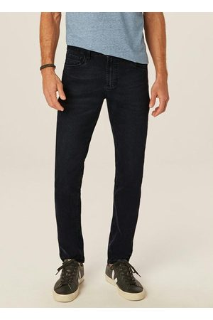 Malwee Calça Preta Skinny Flex Jeans