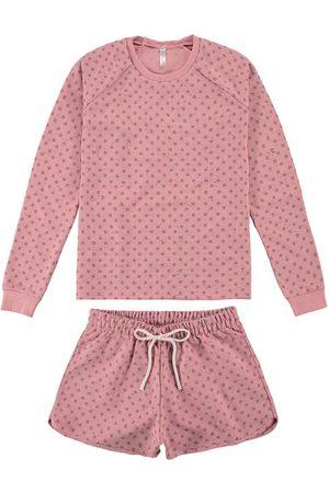Malwee Mulher Pijamas - Conjunto e Pijama Poá em Botonê