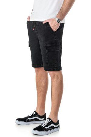 ENFIM Bermuda Preta Jogger Jeans