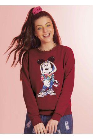 Disney Casaco Feminino com Estampa