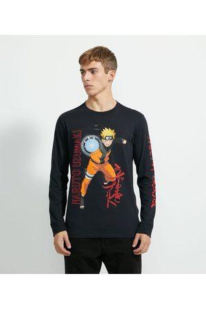 Naruto Camiseta Manga Longa Estampa | | | G
